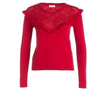Pullover MELODIE mit Cashmere-Anteil - rot