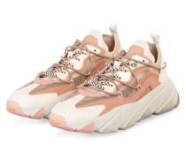 Plateau-Sneaker EXTRABIS - Pink salt