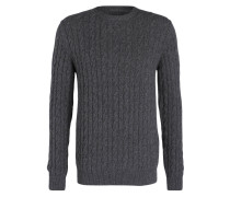 Pullover BLANCHLAND mit Zopfmuster