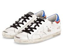 Sneaker SUPERSTAR - WEISS/ BLAU/ ROT