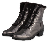 Schnürboots BONNIEH - anthrazit metallic
