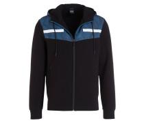 Sweatjacke SIVON - schwarz/ blau