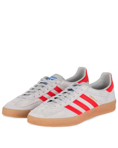 Sneaker GAZELLE - GRAU/ ROT