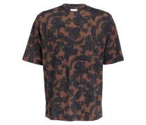 T-Shirt HENRY - braun/ dunkelgrün