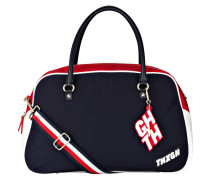 Bowling-Bag - navy/ rot/ weiss
