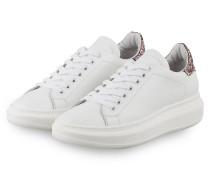Sneaker - WEISS/ HELLROSA
