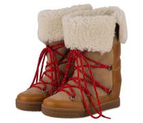 Fell-Boots NOWLY - BEIGE/ COGNAC