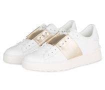 Sneaker OPEN - WEISS/ GOLD