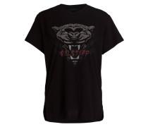 T-Shirt ALYMER - schwarz