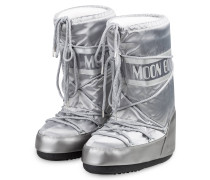 Moon Boots NYLON GLANCE - SILBER