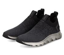 Slip-on-Sneaker TECHMERINO - SCHWARZ/ GRAU