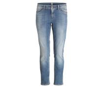Boyfriend-Jeans - blau