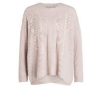 Pullover mit Cashmere-Anteil - rosé