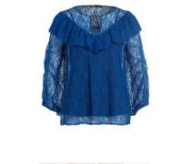 Spitzenbluse LIPSE - blau