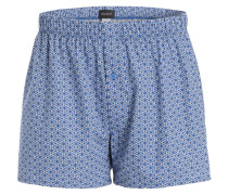 Web-Boxershorts - blau