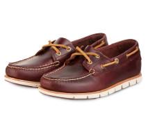 Bootsschuhe TIDELANDS - rotbraun