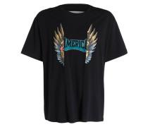 T-Shirt Oversized - schwarz