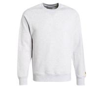 Sweatshirt - hellgrau meliert