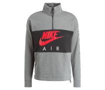 Sweatshirt AIR FLEECE - grau/ pink