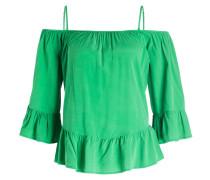 Seidenbluse - grün