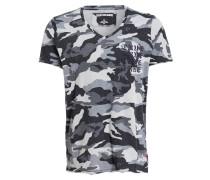 T-Shirt - grau/ anthrazit