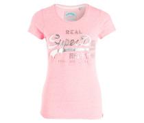 T-Shirt - pink meliert