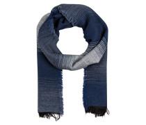Schal ISAK - blau/ weiss
