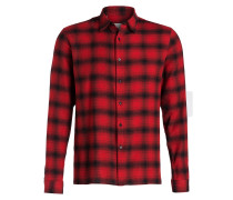 Flanellhemd GRIZZLY Slim-Fit