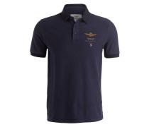 Piqué-Poloshirt - marine