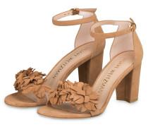 Sandaletten FLOWER - CAMEL