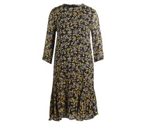 Kleid MARCEAU - schwarz/ gelb/ grau