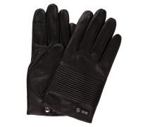 Lederhandschuhe KILOX3-TT - schwarz