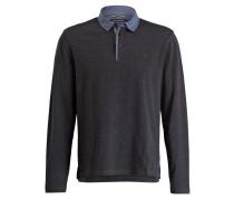 Jersey-Poloshirt Regular-Fit - anthrazit
