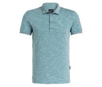 Piqué-Poloshirt J-PAVEL-P - grün meliert