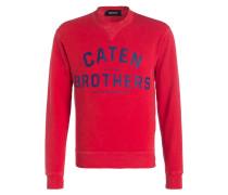 Sweatshirt CATEN - rot