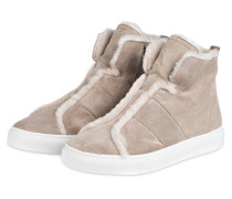 Hightop-Sneaker BASKET - nude