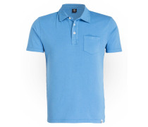 Poloshirt HUDSON - hellblau