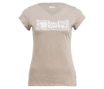 T-Shirt LOGO STAMP - beige