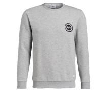 Sweatshirt CREW CREST - grau