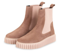 Chelsea-Boots BETH - BRAUN/ HELLROSA