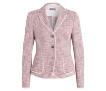 Blazer - taupe/ pink