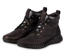 Hightop-Sneaker - SCHWARZ/ DUNKELBRAUN