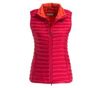 Daunen-Steppweste CYPRESS - pink