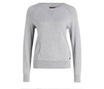 Pullover DAME CANGAROO - grau meliert