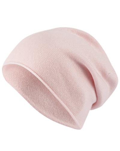 Cashmere-Mütze - rosa