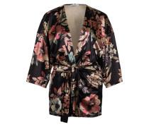Kimono - schwarz/ beige/ rosa
