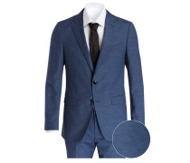 Anzug JOHNSTONS4/LENON1 Regular-Fit - blau