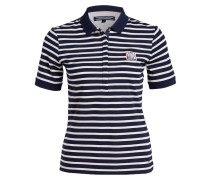 Poloshirt PENNY - navy / ecru gestreift