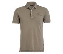Piqué-Poloshirt ELBAS - khaki