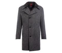 Mantel FARAH mit abnehmbarer Blende - grau